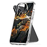 Phone Case Mortal Kombat - Scorpion On Fire Compatible with iPhone 6 6s 7 8 X XS XR 11 Pro Max SE 2020 Samsung Galaxy Scratch Tested Anti