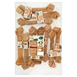 Good Boy - Large Rawhide Knotted Bones - Dog Chews - Made From 100 Percent Natural Hide - Pack of 10 - Dog Treats Natural
