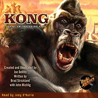 Kong audiobook cover art