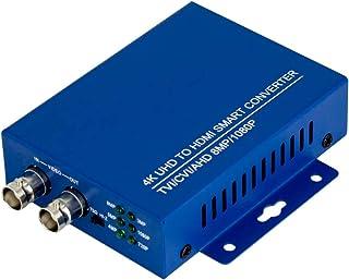 BNC to HDMI Converter Full HD 4K CVI/TVI/AHD+CVBS,1080p/720p/4K/8MP/5MP/4MP/3MP HDMI Converter Adapter for Monitor HDTV DVRs
