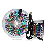 Tiras de LED Luz de tira LED USB para la retroiluminación de TV 2835SMD de 0.5m 1m 2m 3 M DC5V Flexible RGB LED Cinta de la luz de la cinta de la cinta de la pantalla de la pantalla de la pantalla Ilu