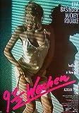 9 1/2 Wochen - Kim Basinger - Mickey Rourke - Filmposter A3