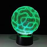 bank Usb 3D Lámpara de mesa Kids Gift Night Light LED 3D Lámpara de mesa Kids Gift Niños Usb