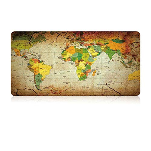 Game Mouse Pad Kaart Rubber Materiaal Super Groot Toetsenbord Matten Waterdichte Pc En Laptop Beste Gift Map, 800x500x3mm