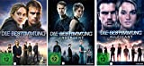 Die Bestimmung - 3 DVD Set: Divergent, Insurgent, Allegiant (Single Versionen) - Deutsche Originalware [3 DVDs]