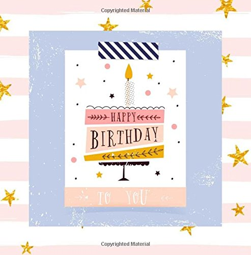 Happy Birthday to You: Guest Book Pink Color-Filled Fluer de Lis Pages for Women Girls 26th 27th 28th 29th 31st 32nd 33rd 34th 36th 37th 38th 39th ... 25th 30th 45th 90th 80th 70th 60th Balloons