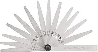 Cálibre de folga 0,05 mm a 1,00 mm, 13 lâminas, CF 013, Vonder