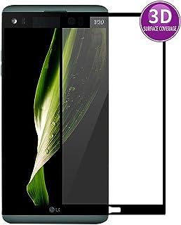 E-Hamii 3D skärmskydd för LG V20 (svart) komplett skydd skyddar film, HD-härdat glas, fullständigt skydd mot repor och fin...