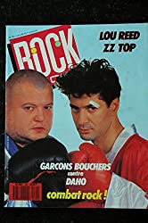 ROCK & FOLK 261 Garçons Bouchers Daho Lou Reed ZZ Top