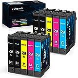 Timink 29 XL Cartuchos de tinta Reemplazo de Epson 29XL Compatibles con Epson XP-255 XP-235 XP-345 XP-435 XP-245 XP-247 XP-332 XP-342 XP-432 XP-442 XP-445 (10 Paquetes)