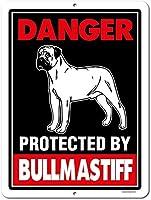 ティンサインは犬の警告金属アルミニウムティンサインに注意してください