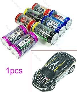 zobeen Mini Multicolor Coke Can RC Radio Remote Control Speed Micro Racing Car Toy Gift