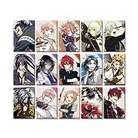 刀剣乱舞-ONLINE- スクエア缶バッジコレクション(戦闘)第四弾 20個入りBOX商品