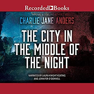 The City in the Middle of the Night audiobook cover art
