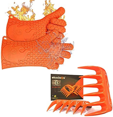 Ekogrips Premium BBQ Oven Gloves Ekoclaws Shredding Meat Claws product image