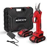 KKmoon - Tijeras de podar eléctricas inalámbricas 21 V con podar y podar ramas, herramienta de planificación de paisaje