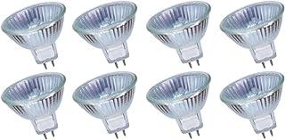MR16 35W Ampoules Halogènes 12V 2700K Blanc Chaud Dimmable, Paquet de 8
