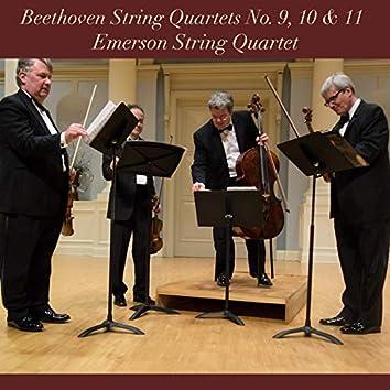 Beethoven: String Quartets No. 9, 10 & 11