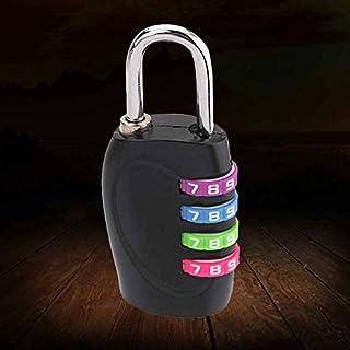 coffre /à outils ISIYINER Serrures /à code de s/écurit/é avec combinaisons /à 4 chiffres pour valise de sport armoire remise et bagages M Argent