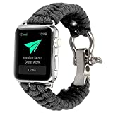 aizhinuo Cinturino in Nylon Sport Regolabile Wrist Bands Sportiva Nylon Ricambio Elastica Cinturino per Apple Watch Series 5 & 4 40mm / 3 e 2 e 1 38mm