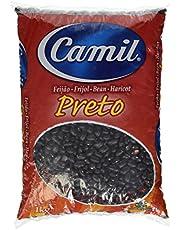 Frijoles negros brasileños, 1a calidad, 1kg bolsa - Feijão Preto CAMIL 1kg