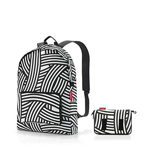 reisenthel Mini Maxi Rucksack Zebra, schwarz weiß