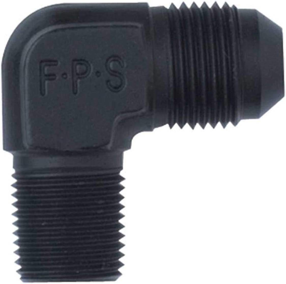 Fragola 482216-BL Today's only Black Size -16 x Adapter San Diego Mall Fitti MPT 90° 1