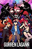 GURREN - LAGANN: Japanese Anime Notebook, 6 x 9- 100 Blank Pages - Anime Journal, Otaku Gift Notebook, Journal College Diary, Gift For Boys, Girls, Artists & Adults