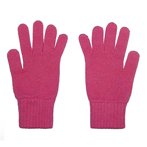 Oxfords Cashmere 2-schichtige Damenhandschuhe aus purem Kaschmir (Gossip)