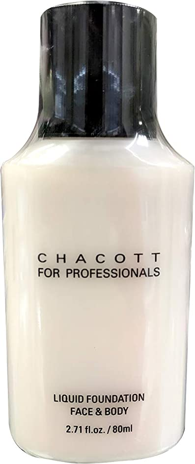 高いみがきます未使用CHACOTT<チャコット> リキッドファンデーション 80ml 317 (C)
