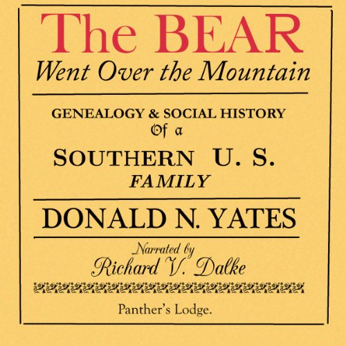 The Bear Went Over the Mountain audiobook cover art