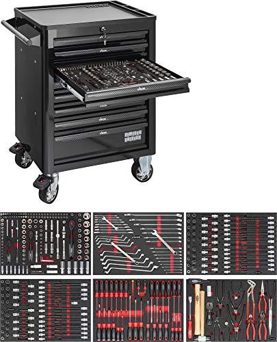 Vigor V4750 Werkstattwagen mit Sortiment, Anzahl Werkzeuge: 375, 1000 x 723 x 459 mm