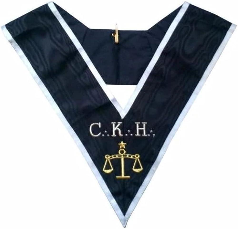 Masonic Officer's collar - ASSR - 30th degree - CKH - Premier Grand Juge