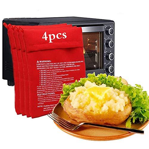 Mikrowellen Kartoffelkochtasche,Mikrowellen Kartoffelgarer Kartoffeltasche Kartoffeln Garen,Mikrowellen Kartoffelbeutel,Kochtasche Mikrowelle,Mikrowellen Kartoffel Kocher