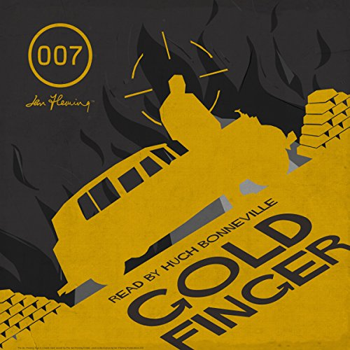 Goldfinger audiobook cover art