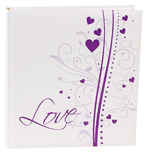 Goldbuch 08231 Hochzeitsalbum Dream, 60 Seiten mit Pergamin, ca. 30 x 31 cm