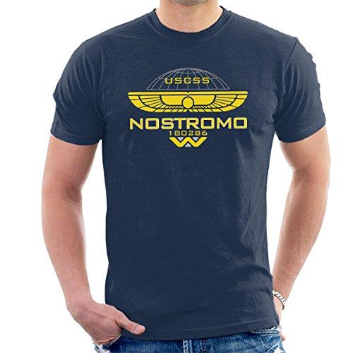 Nostromo Weyland Logo Alien Men's T-Shirt