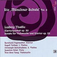Thuille: Piano Quintet/Cello S