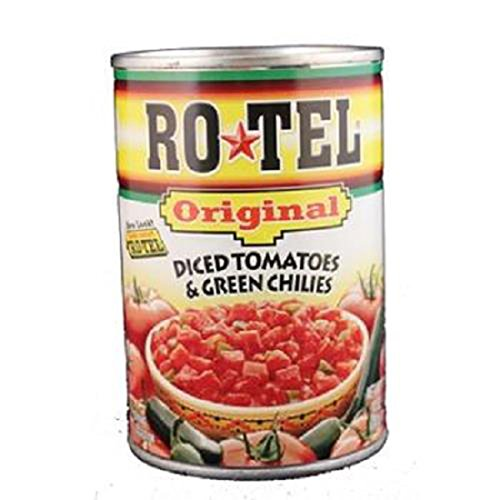Rotel, Original Diced Tomatoes & Green Chilies Can, Count 1 - Tomato Paste / Grab Varieties & Flavors