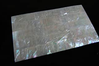 White Mother-of-Pearl (MOP) Shell Veneer Sheet