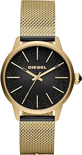 Diesel analoog kwartshorloge met roestvrijstalen armband DZ5576