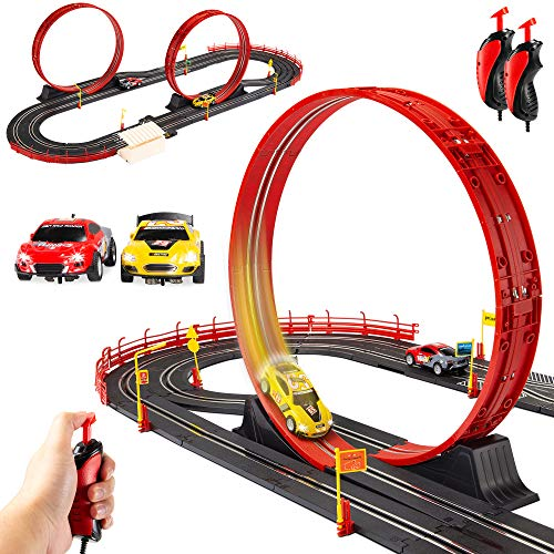 Best Choice Products Electric Slot Car Race Track...