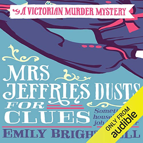 Mrs Jeffries Dusts for Clues audiobook cover art