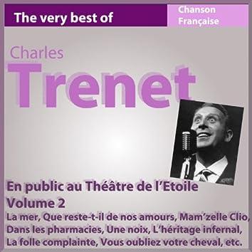 Charles Trenet en public au Théâtre de l'Etoile (Live, Vol. 2)