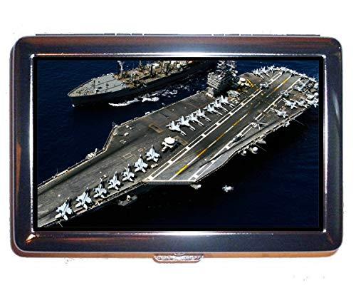 Portasigarette, militare USS Theodore Roosevelt (CVN 71) Biglietto da visita professionale da guerra