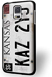 THE FORCE SERIES - Sleek, stunning & unique -Cell World LLC - License Plate Supernatural for Iphone and Samsung Samsung Galaxy S7 Black