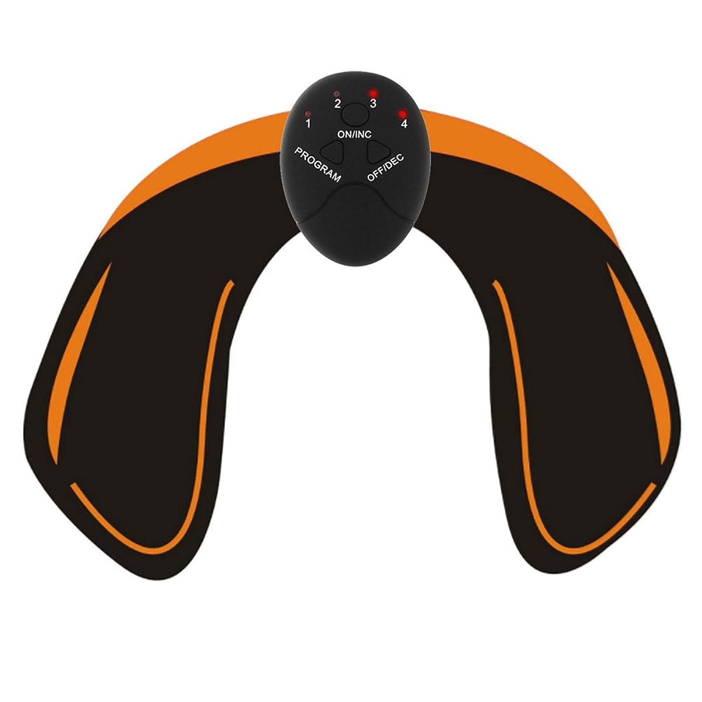 才能のある気性ストライクHealifty EMS トレーニングパッド ヒップアップ お尻専用 多機能 筋トレ器具 ダイエット 筋肉振動 引き締める 強さ階段調節 男女兼用