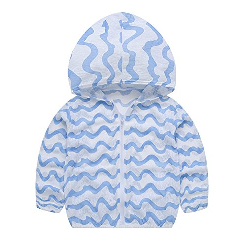 hellomiko Frühling-Sommer dünne Jacke Kinderjacke Mantel Baby Boy Girl Fruit Print Sonnencreme Jacke Kapuzenjacke