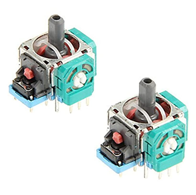 2 x Analog 3D Joystick Thumbstick Wireless Controller Rocker for PlayStation 4 PS4 Controller Replacement