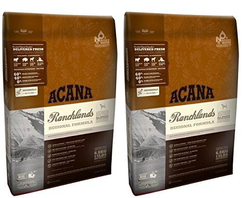 2x 11.4kg Acana Regionals Ranchlands Trockenfutter für Hunde AVSL Bügelkopfhörer